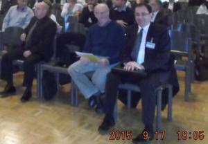 17.9.2015, Mike, Richard und Werner