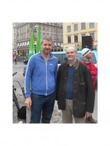 MdB Herr Dieter Janecek mit  Justiz-Opfern